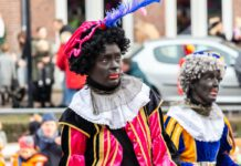 photo-of-zwarte-piet-at-a-parade-in-the-netherlands
